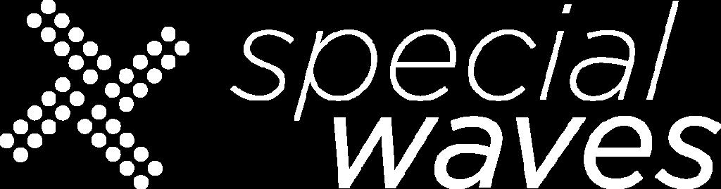 Logo Specialwaves + simbolo_white